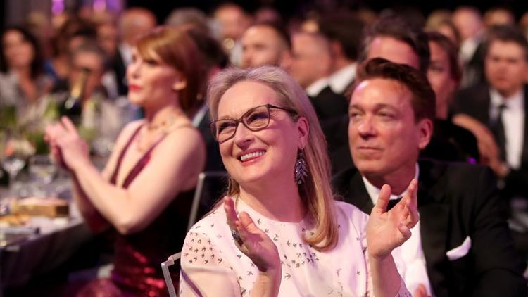She's not going to win, but that doesn't mean you won't be seeing plenty of Meryl Streep at the Oscars on Sunday night.
