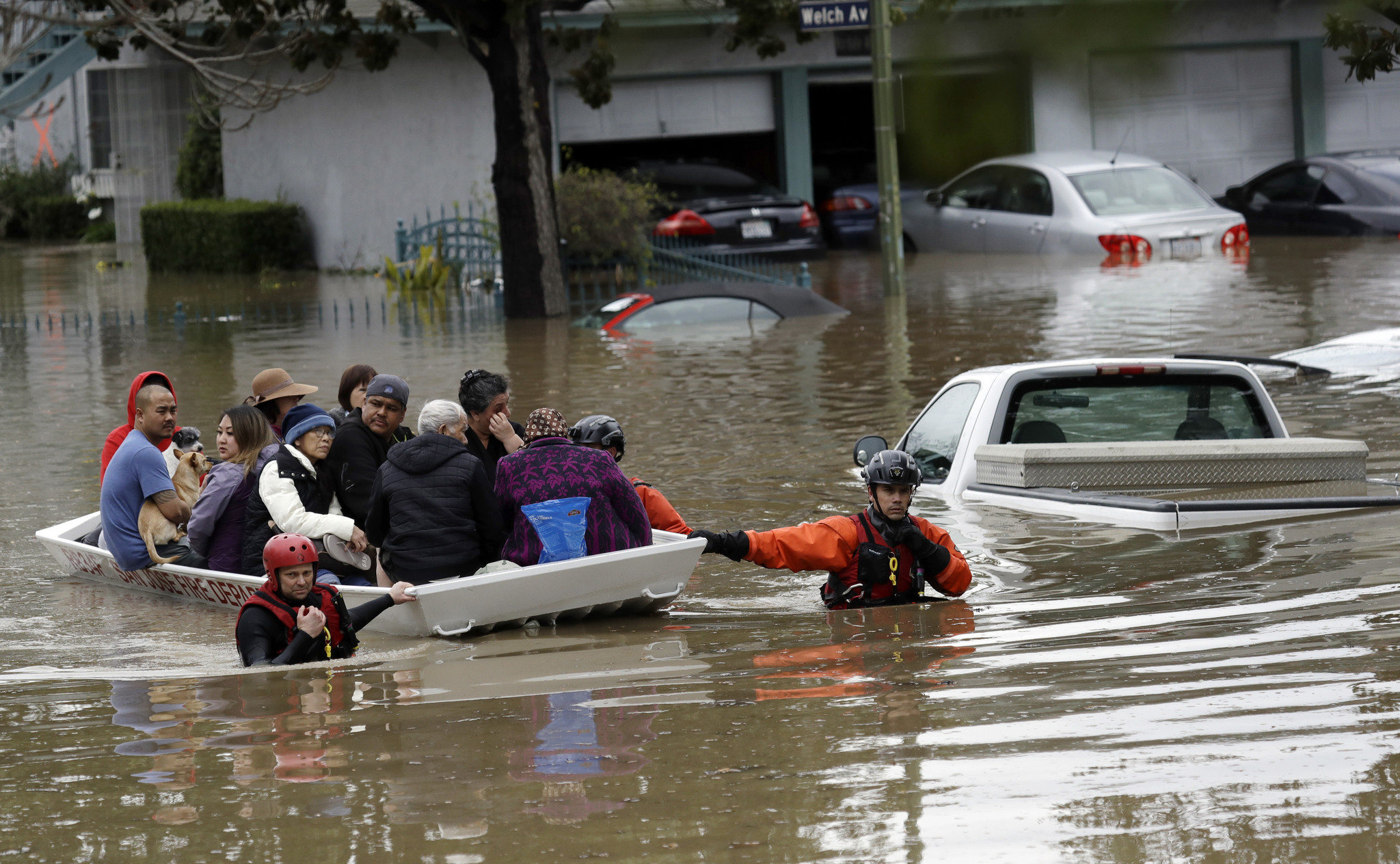 Flood Zone Maps By Address, Hit By Worst Floods In A Century San Jose Got Little Warning Of Impending Disaster La Times, Flood Zone Maps By Address