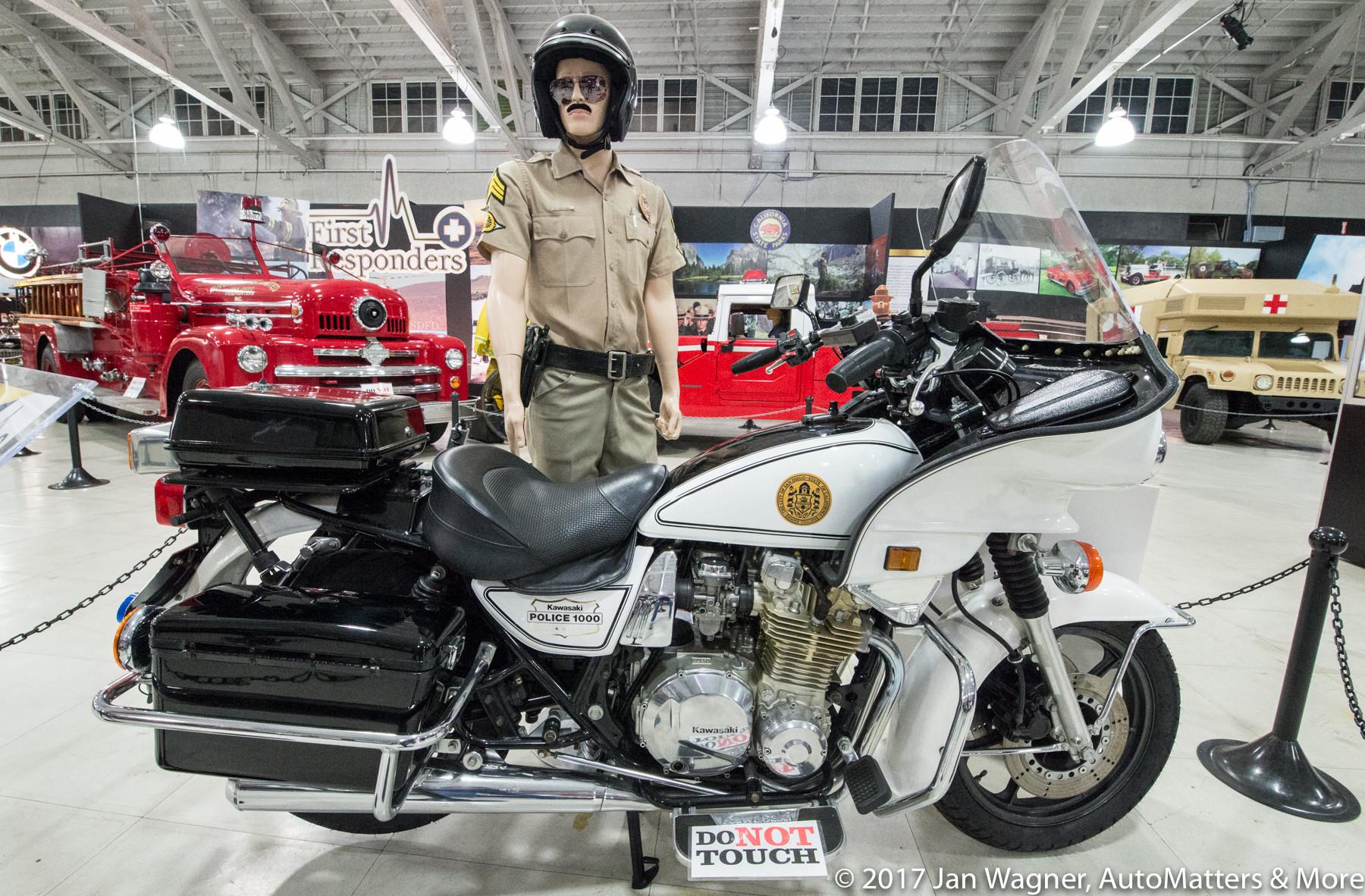 """1999 Kawasaki KZ1000 P-18 """"Police 1000"""" motorcycle"""