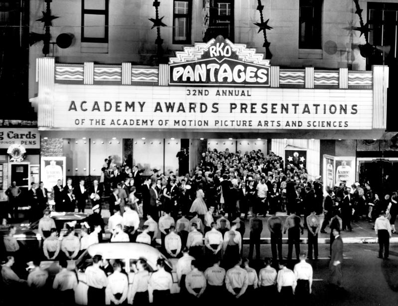 The theater in 1960. (Los Angeles Times)