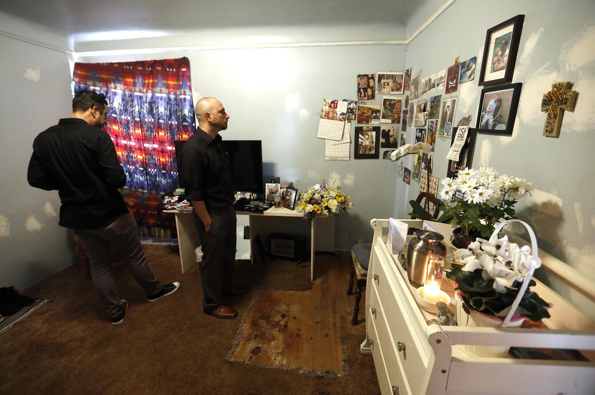 In Lopez's bedroom