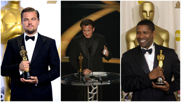 When it comes to dressing Oscar's lead actor winners, the gold medal goes to Giorgio Armani