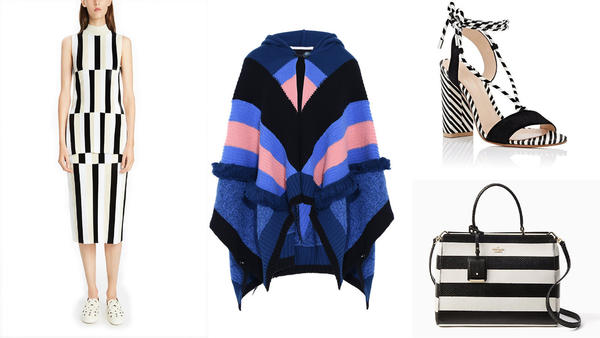 Adding bold, colorful stripes might be the ultimate way to stand out this spring