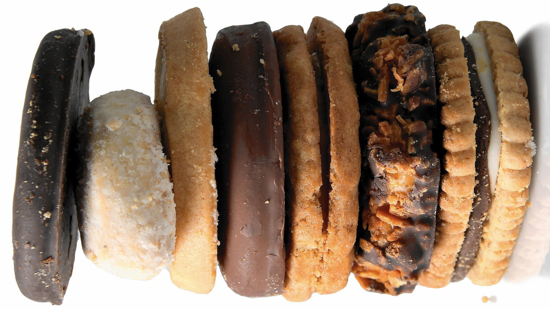 a nutritionist ranks the best and worst girl scout cookies