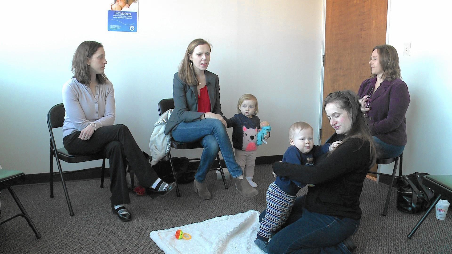 Moms With Postpartum D...