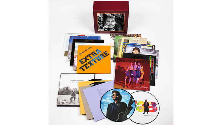 """George Harrison -- The Vinyl Collection"" box set"