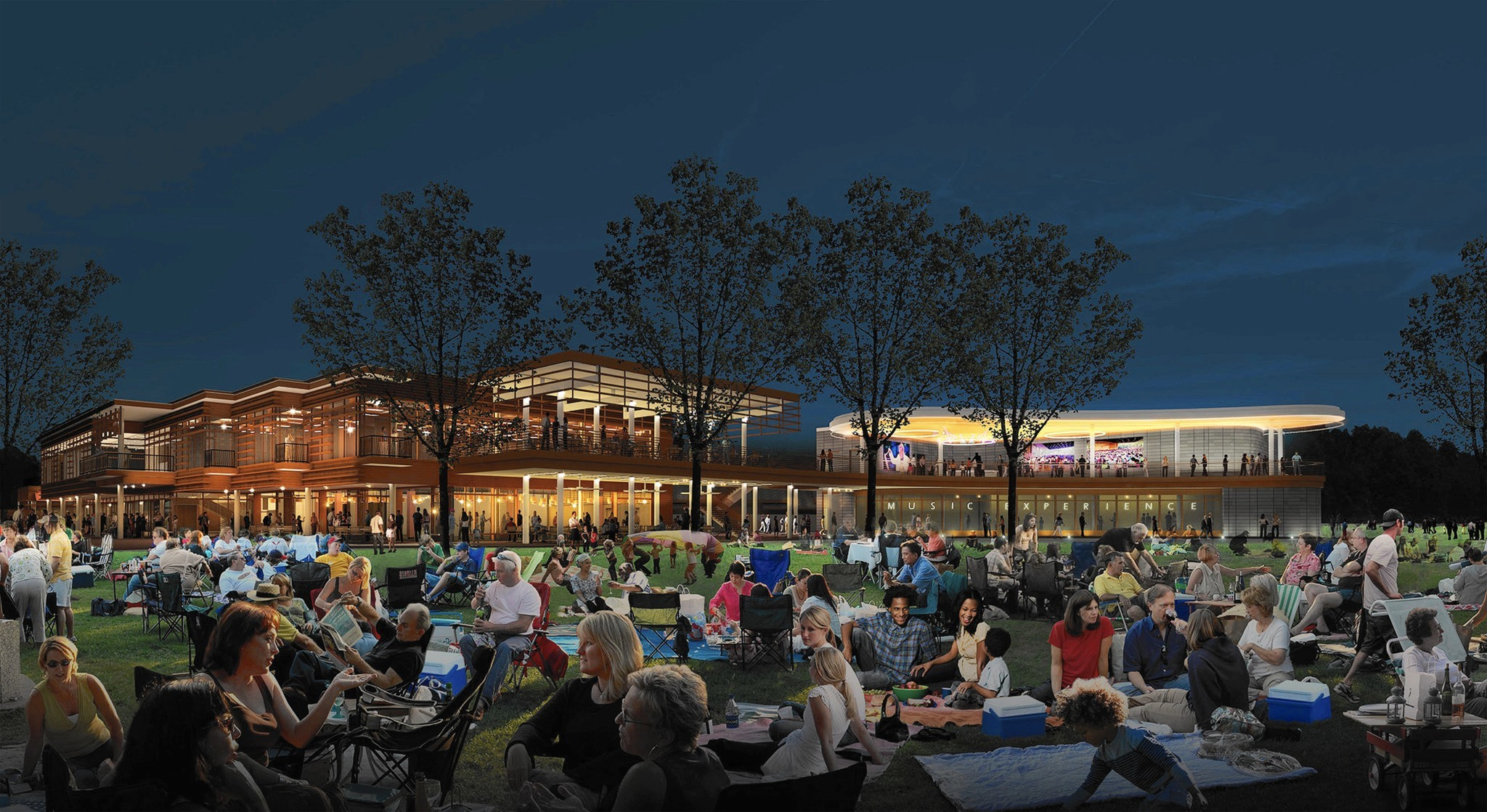 Ravinia unveils plans for interactive museum with classical bent Highland Park News