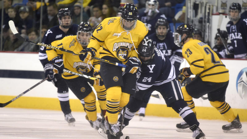 ECAC: Quinnipiac Extends Unbeaten Streak Against Yale In Men's Hockey