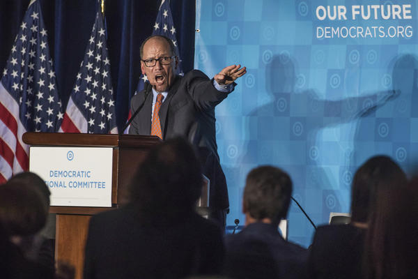 Newly elected Democratic National Committee Chairman Tom Perez (Branden Camp/Associated Press)