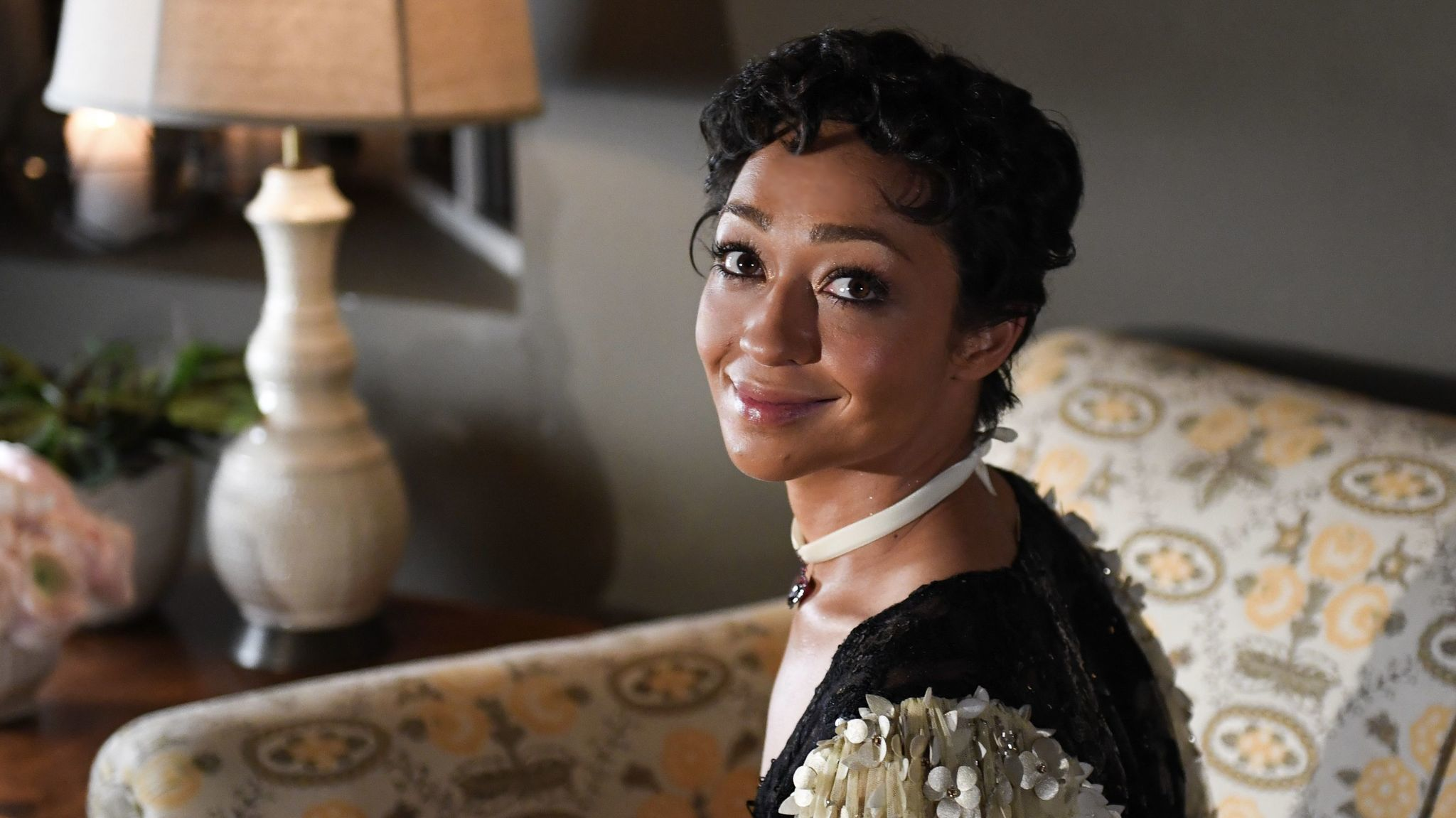 Ruth Negga, shown at Gemfields' pre-Oscars party at Chateau Marmont, has become a red carpet favorite this season.