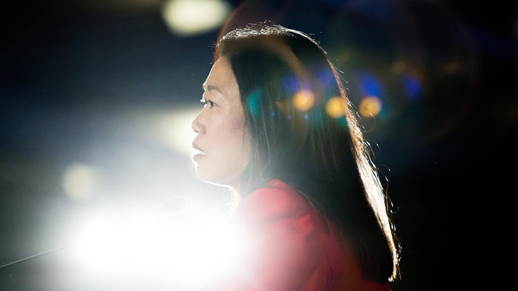 California state Sen. Janet Nguyen (Carl Costas / For The Times)