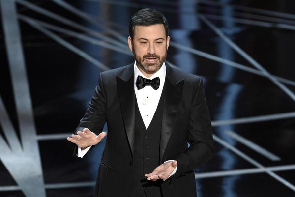 Oscar host Jimmy Kimmel (Chris Pizzello/Invision/AP)
