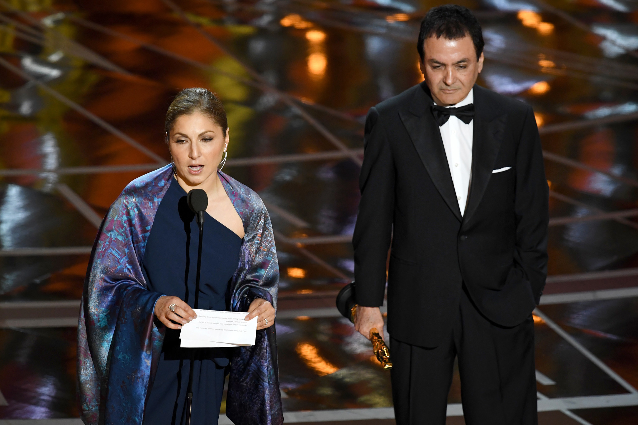 Full statement from foreign-language film winner Asghar Farhadi, who refused to go to the Oscars in protest