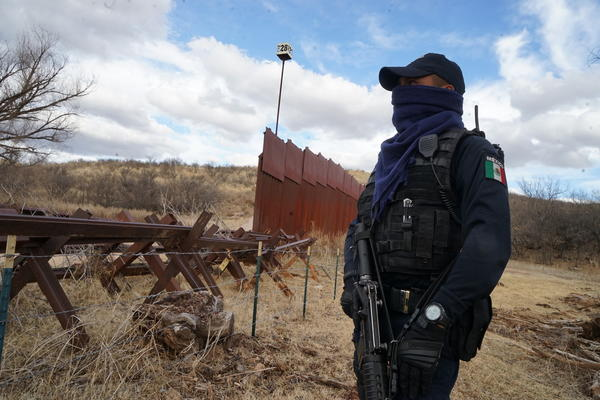 On the other side of the wall: Mexicans on the border are 'psychologically traumatized'