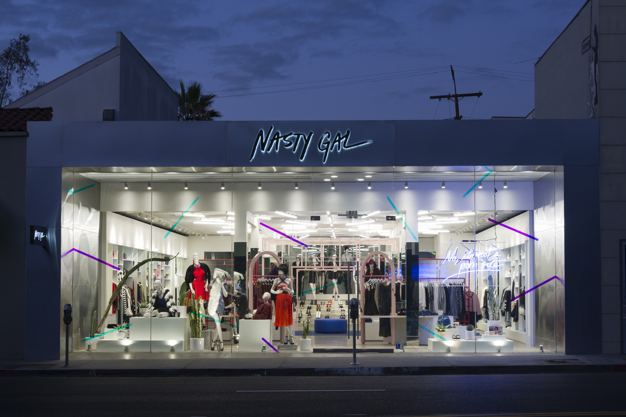 Clothing stores similar to nasty gal