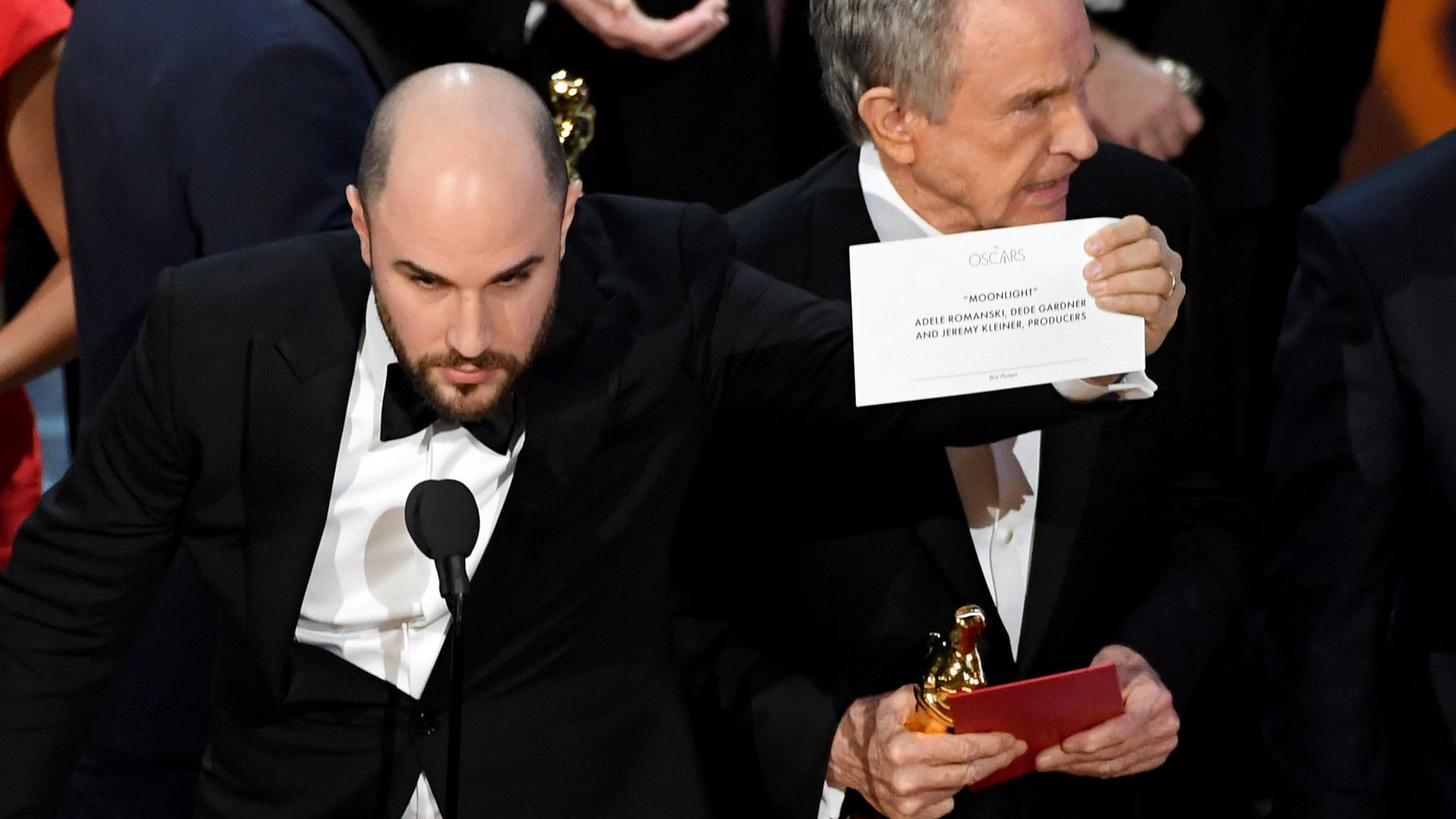 oscars 2017 mix up moonlight wins best picture after la la land oscars 2017 mix up moonlight wins best picture after la la land d winner the san diego union tribune