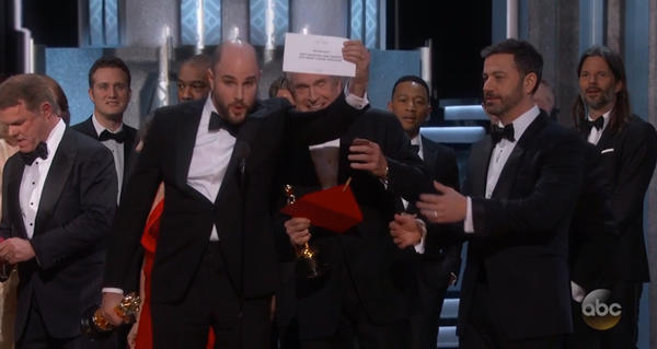 How did we get to the envelope gaffe? The great Oscars drama of 2017