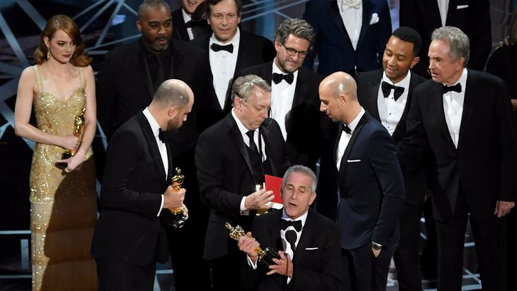 Academy Awards: The drama onstage