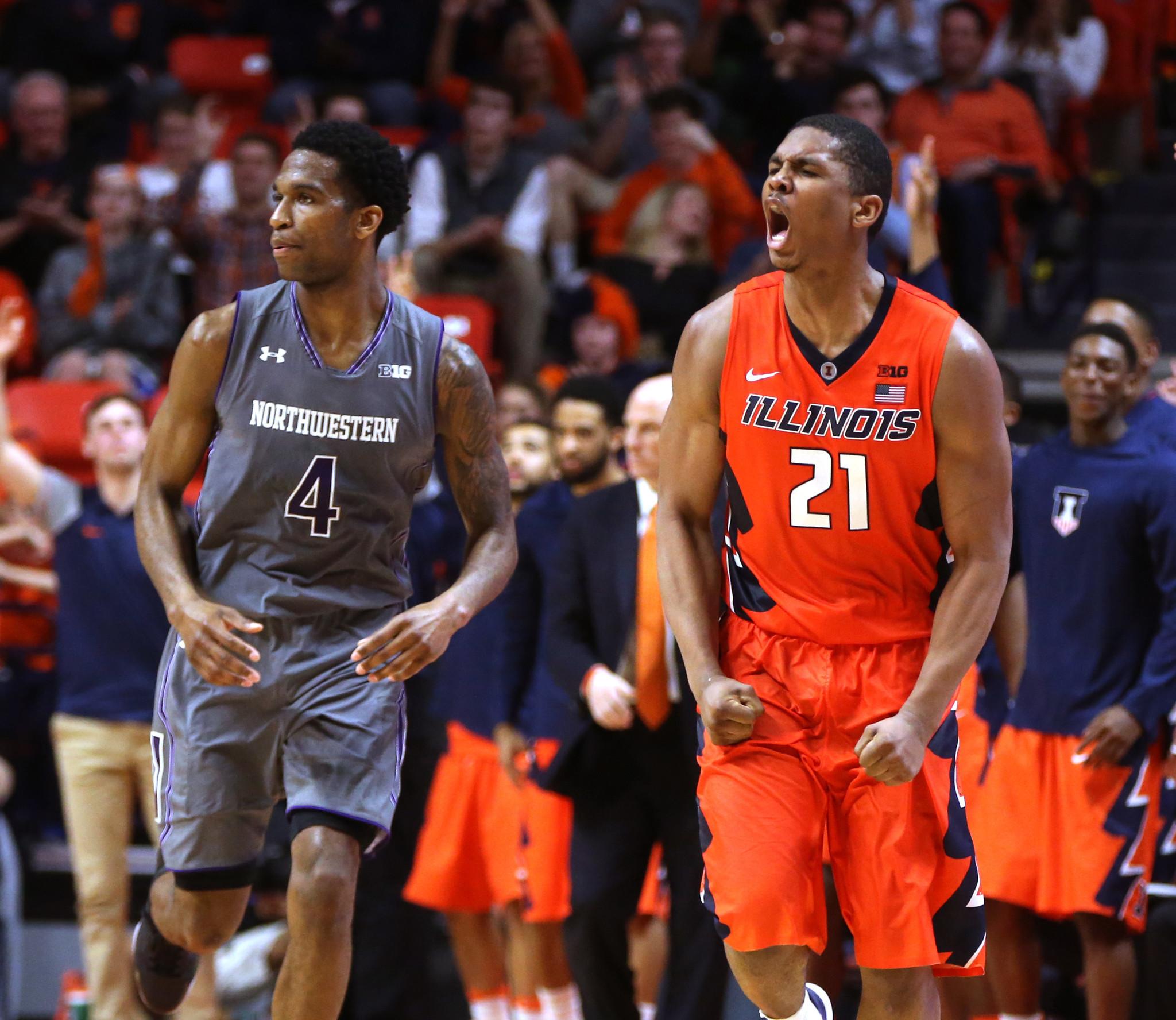 NCAA bracket expert: Northwestern safely in; Illinois still has hope
