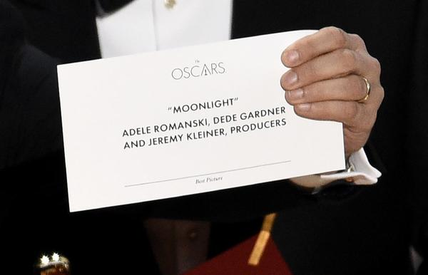 How a piece of paper crushed the Oscars