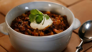 Panera Bread's turkey chili