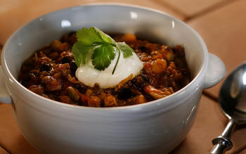 Panera Bread's turkey chili