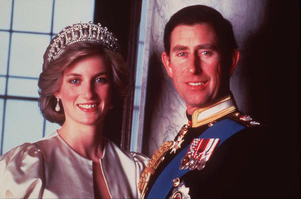 Britain's Prince Charles and the late Princess Diana in 1985. (Associated Press)
