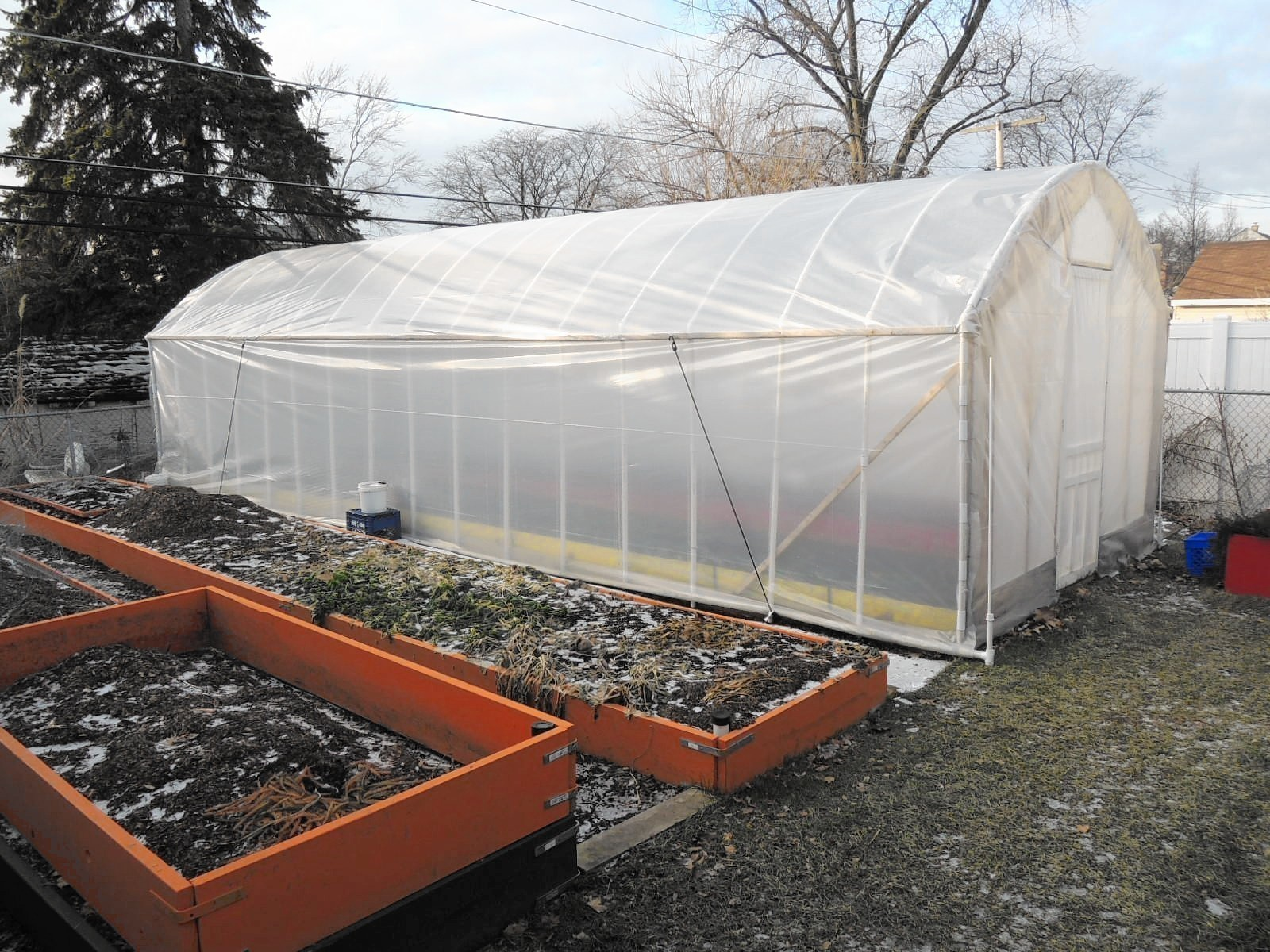 Elmhurst Hoop House Removed But Dispute Remains Chicago