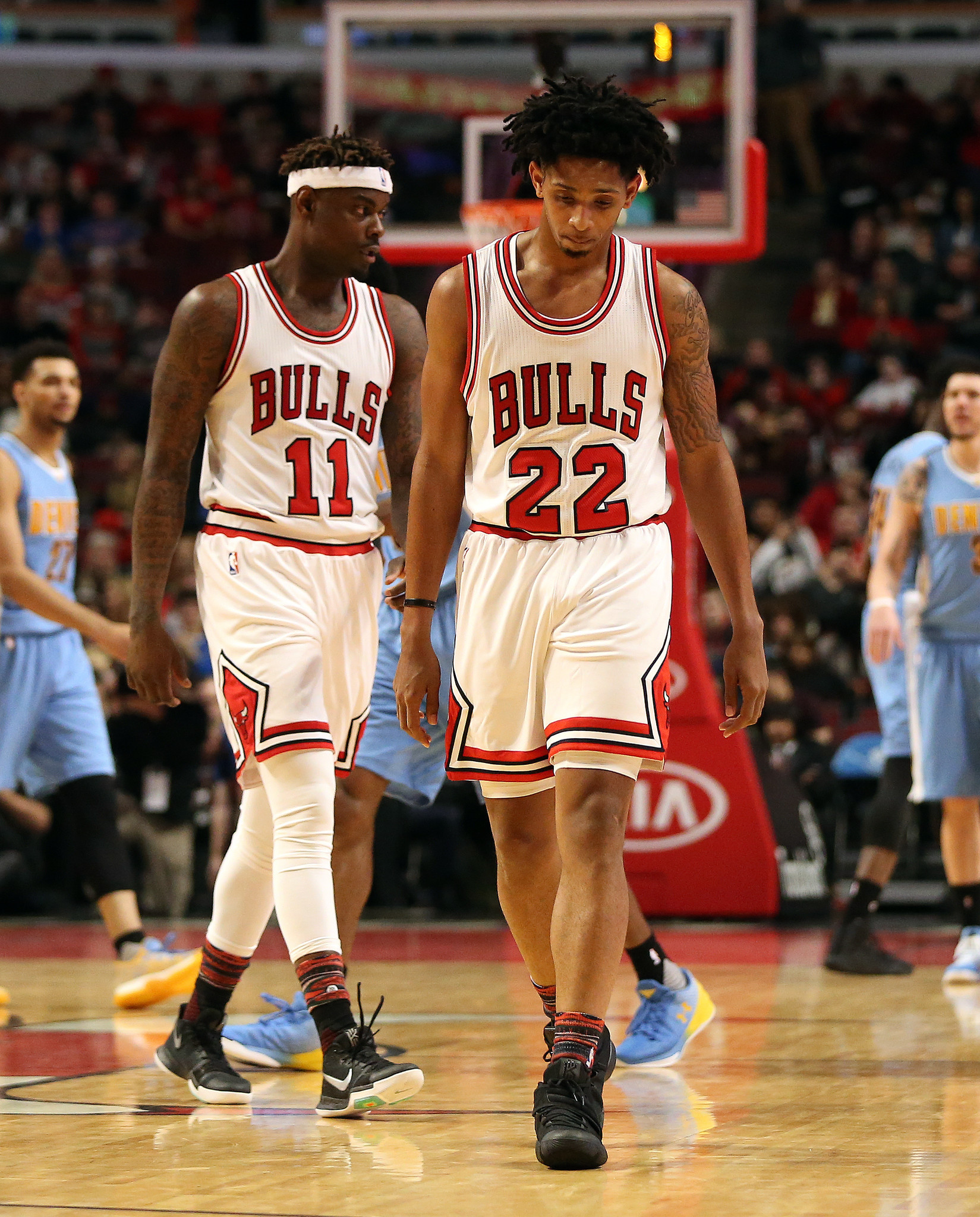 Bulls Defense Falters, Shooting Lags As Nuggets Snap 4