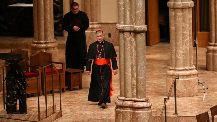 Cupich at Holy Name