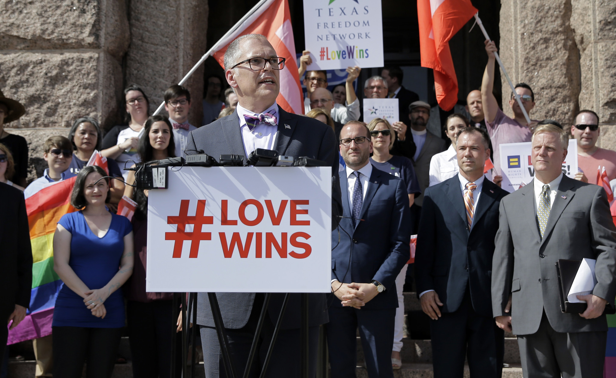case for gay marriagw 2015-6-22 when gay-marriage advocates made their case, kennedy commented that the definition of marriage had been with us for millennia, according to.