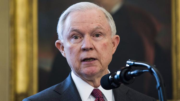 DOJ: AG Sessions did not disclose Russia meetings in security clearance form