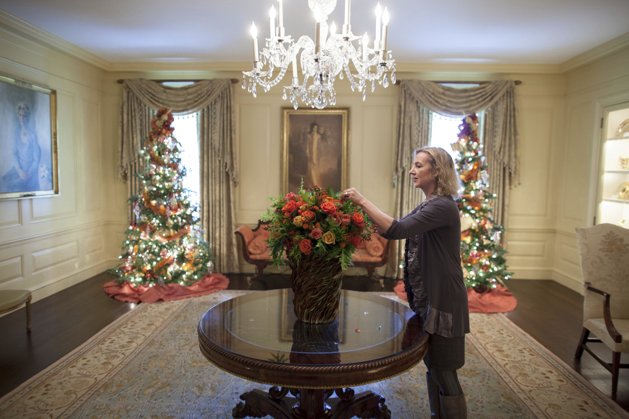 Former White House Florist Laura Dowling On Garden Show Time With