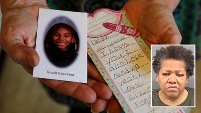 Woman faces up to life in prison for torture killing of young granddaughter