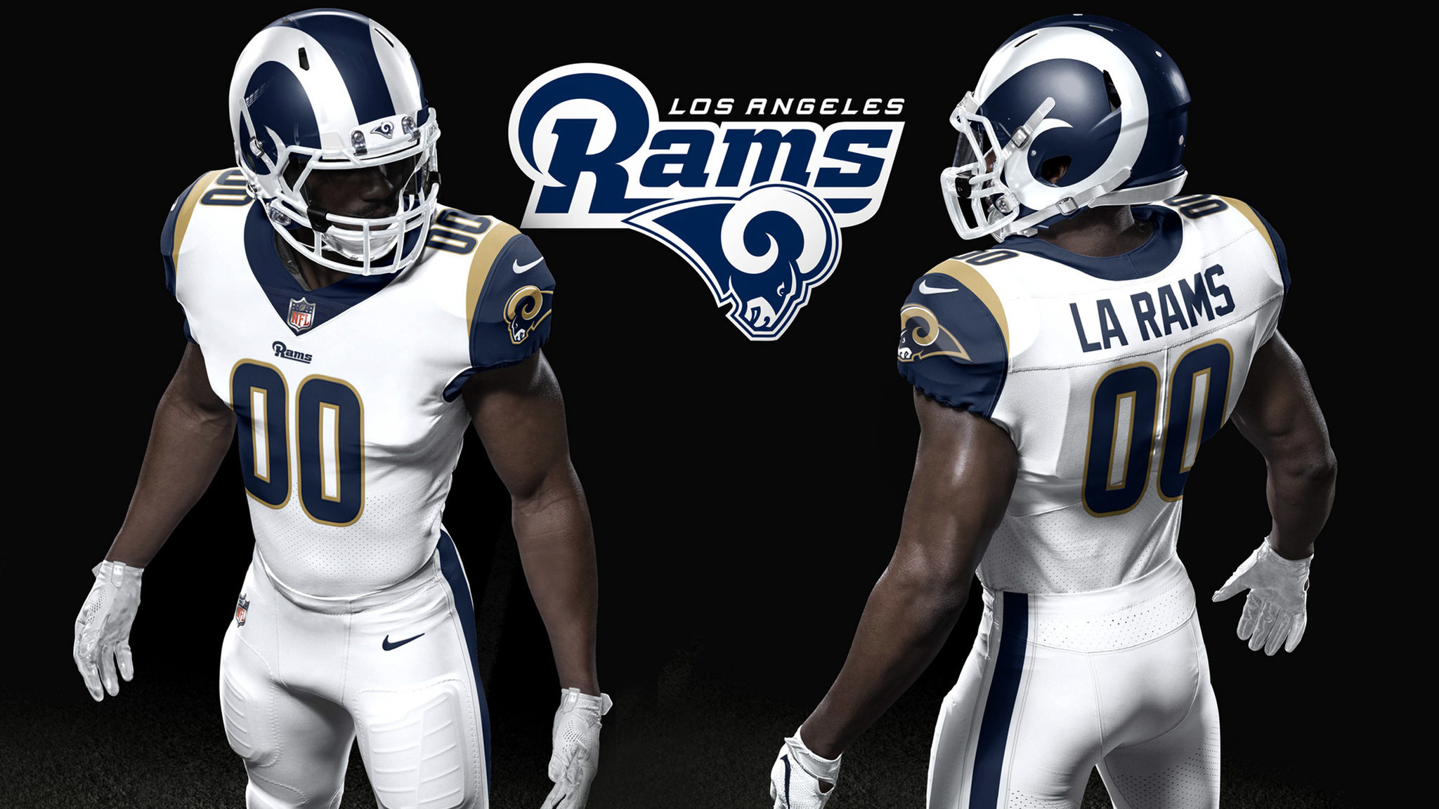 Rams Unveil Redesigned Home Uniform And Helmet For 2017