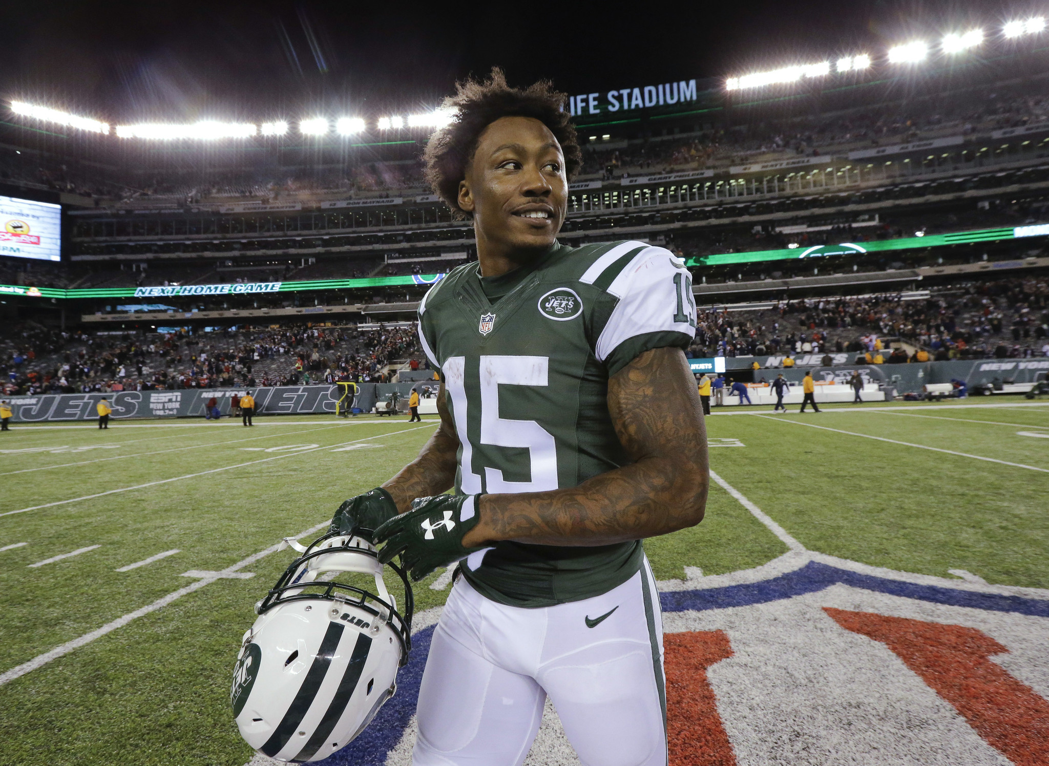 Brandon Marshall will have plenty of teams that will inquire about his services now that he is a free agent.