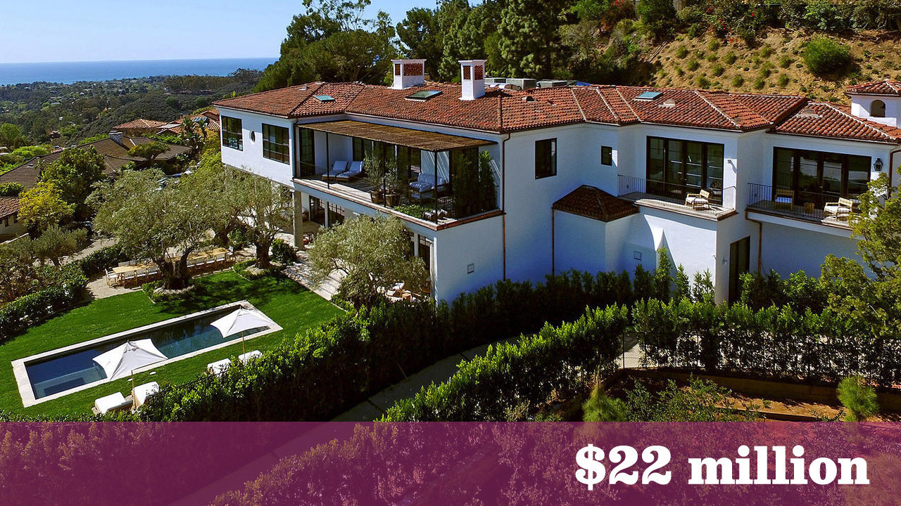 Westside mansion that replaced ron and nancy reagan s for Spec home