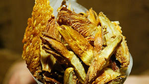 Simplest fried artichokes