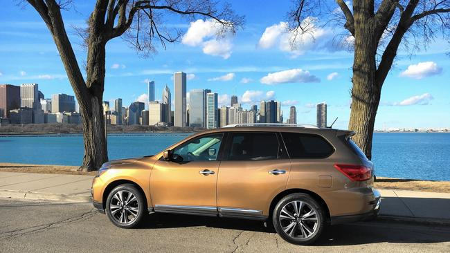 Refreshed 2017 Nissan Pathfinder Is Not Quite The One Chicago Tribune
