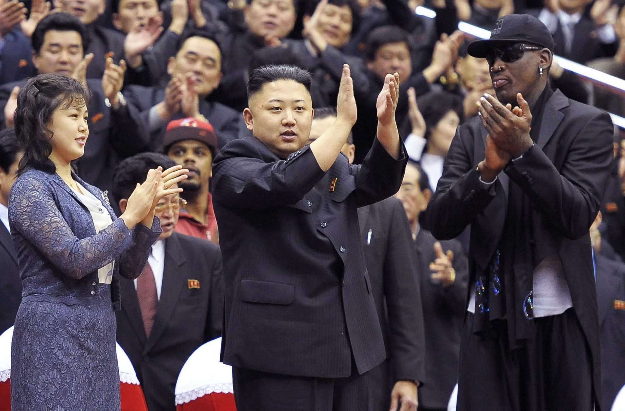 Dennis Rodman talks North Korea diplomacy before an au nce of