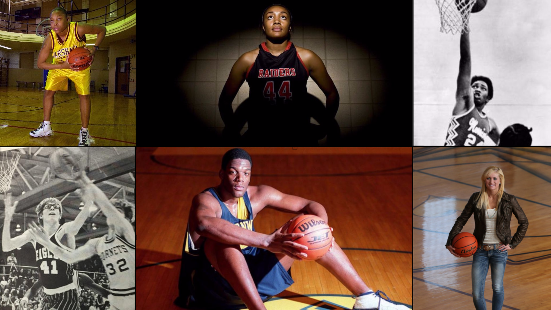 What are some of the records for the Illinois boys basketball regional finals?