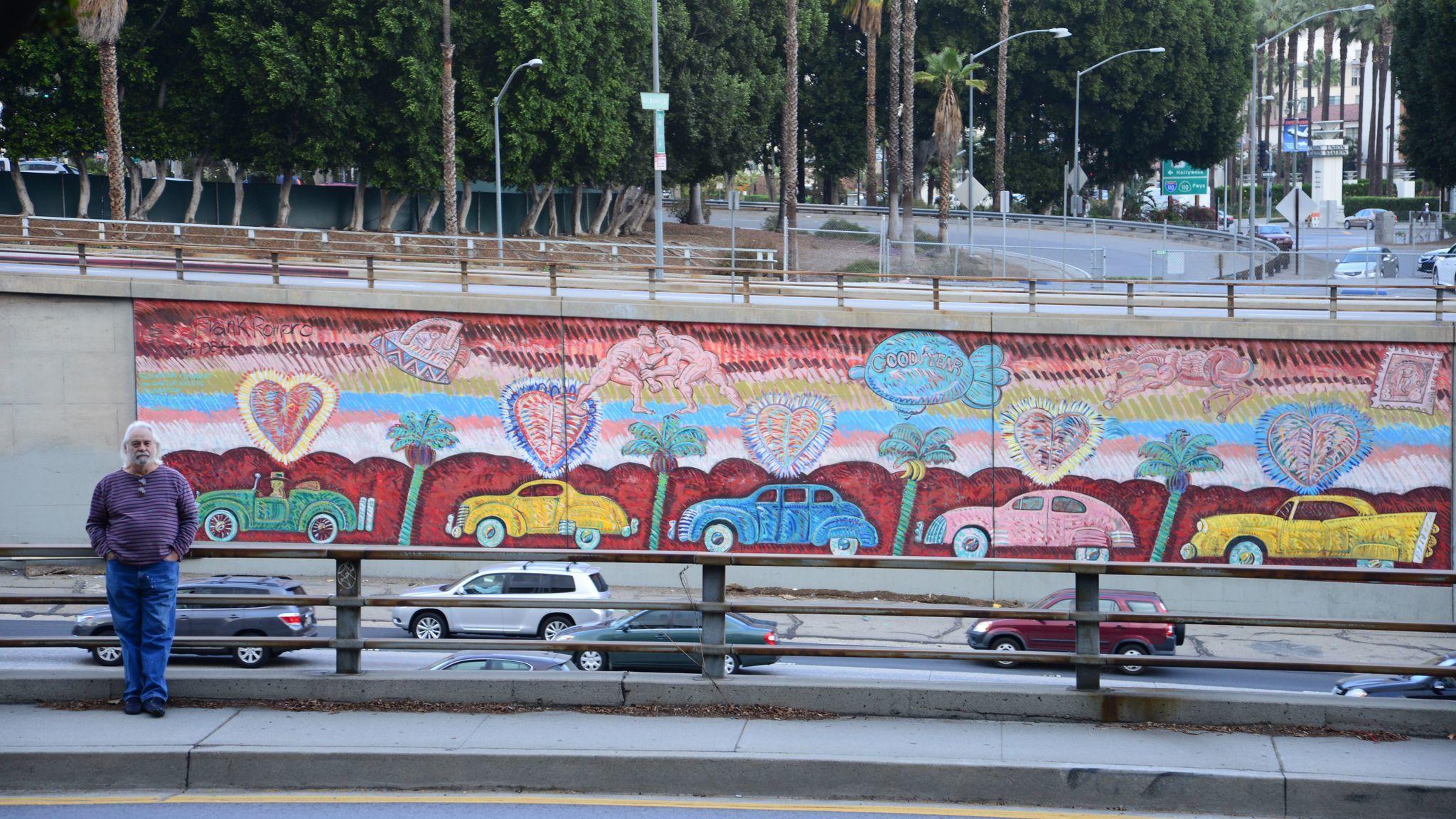 Chicano art pioneer frank romero is still painting still for Used lumber los angeles