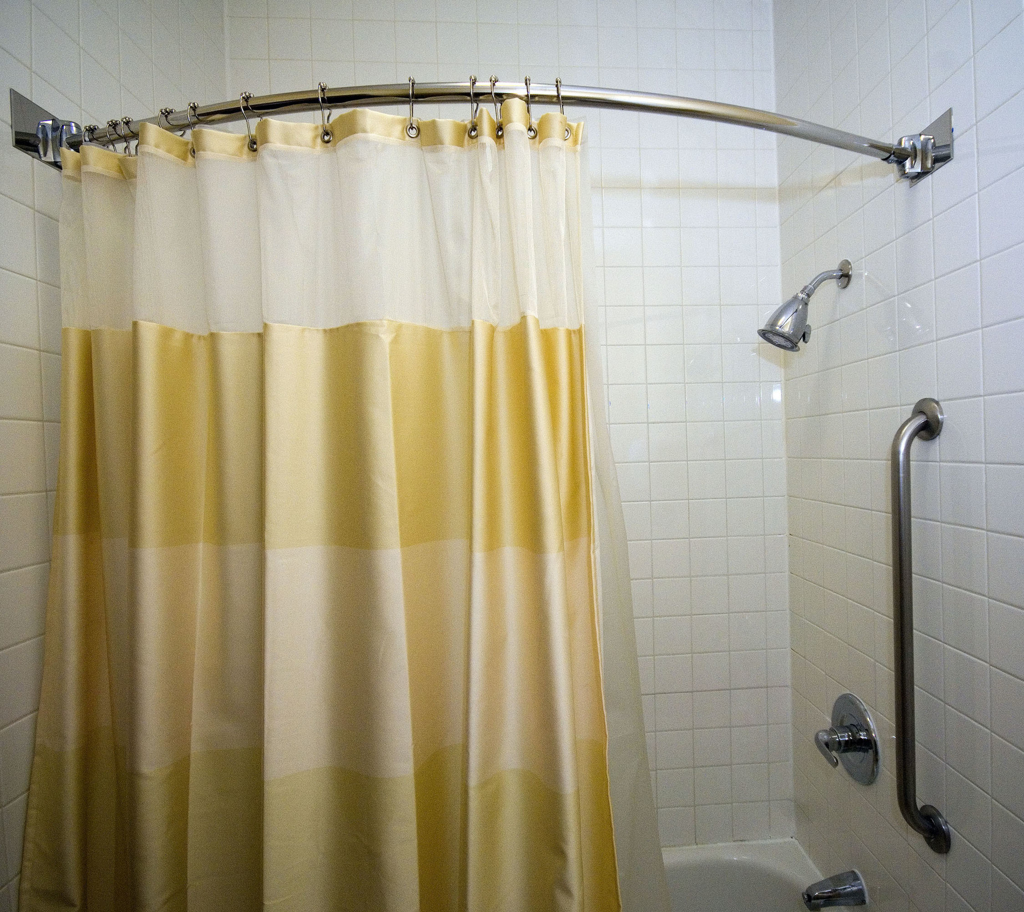 Install A Curved Shower Rod Chicago Tribune