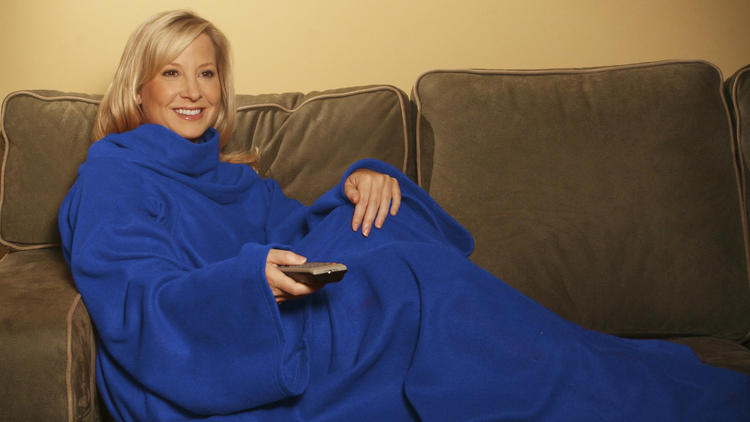 The snuggie   image credits: Chicago Tribune
