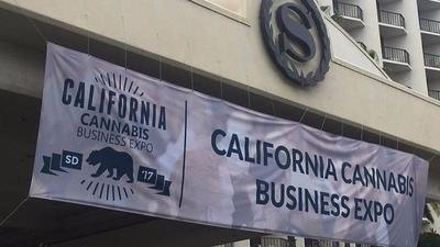 Hundreds of attendees, exhibitors and sponsors are gathering at the California Cannabis Business Expo in San Diego, running through Wednesday.