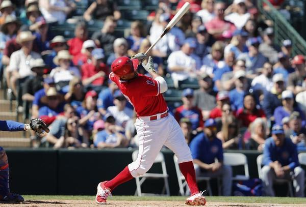 Spring training: Chicago Cubs 13, Angels 10