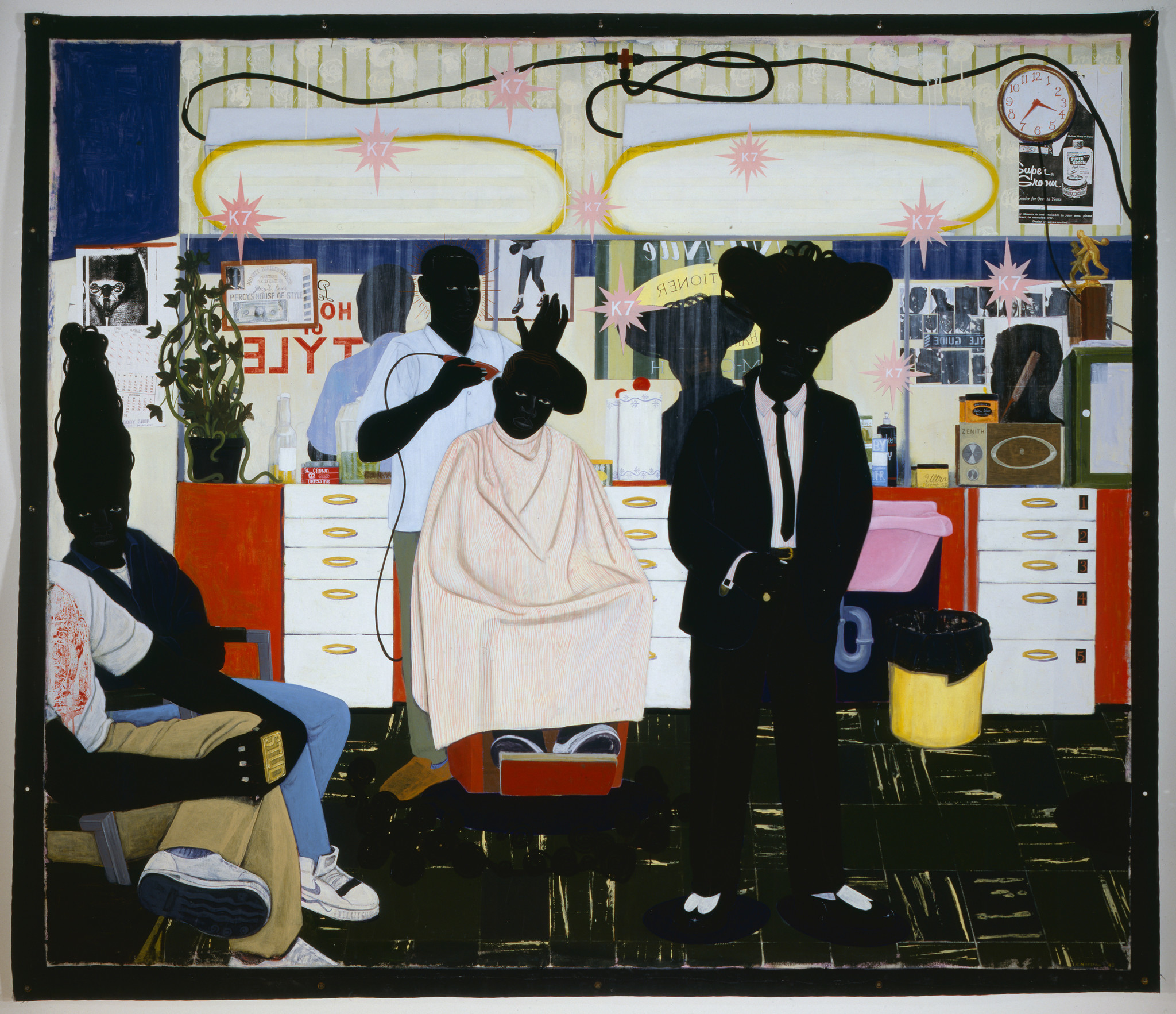 "Kerry James Marshall's ""De Style."""