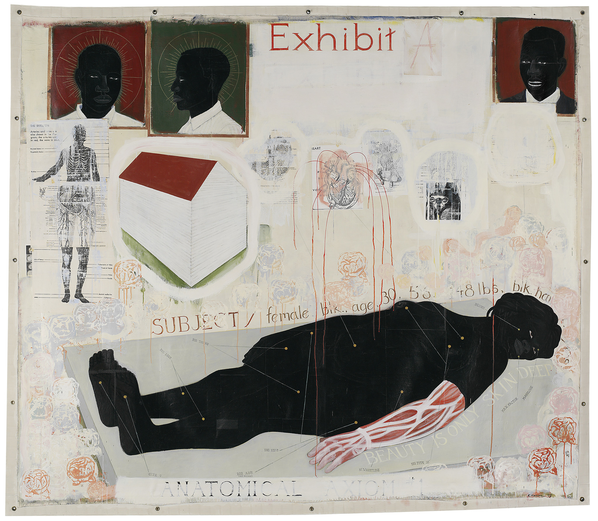"Kerry James Marshall's ""Beauty Examined"""