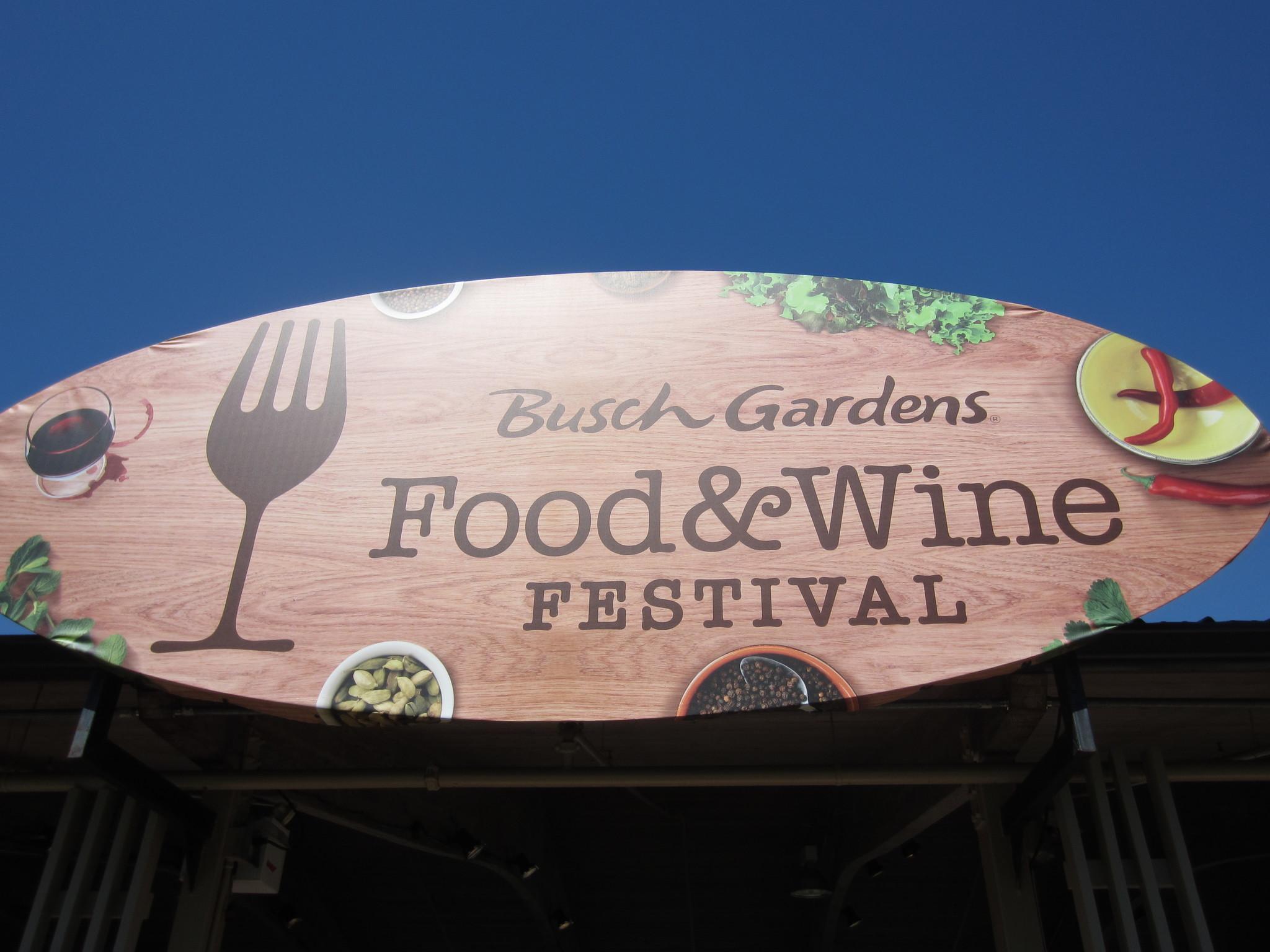 Food and wine de busch gardens en tampa el sentinel for Busch gardens food and wine 2017