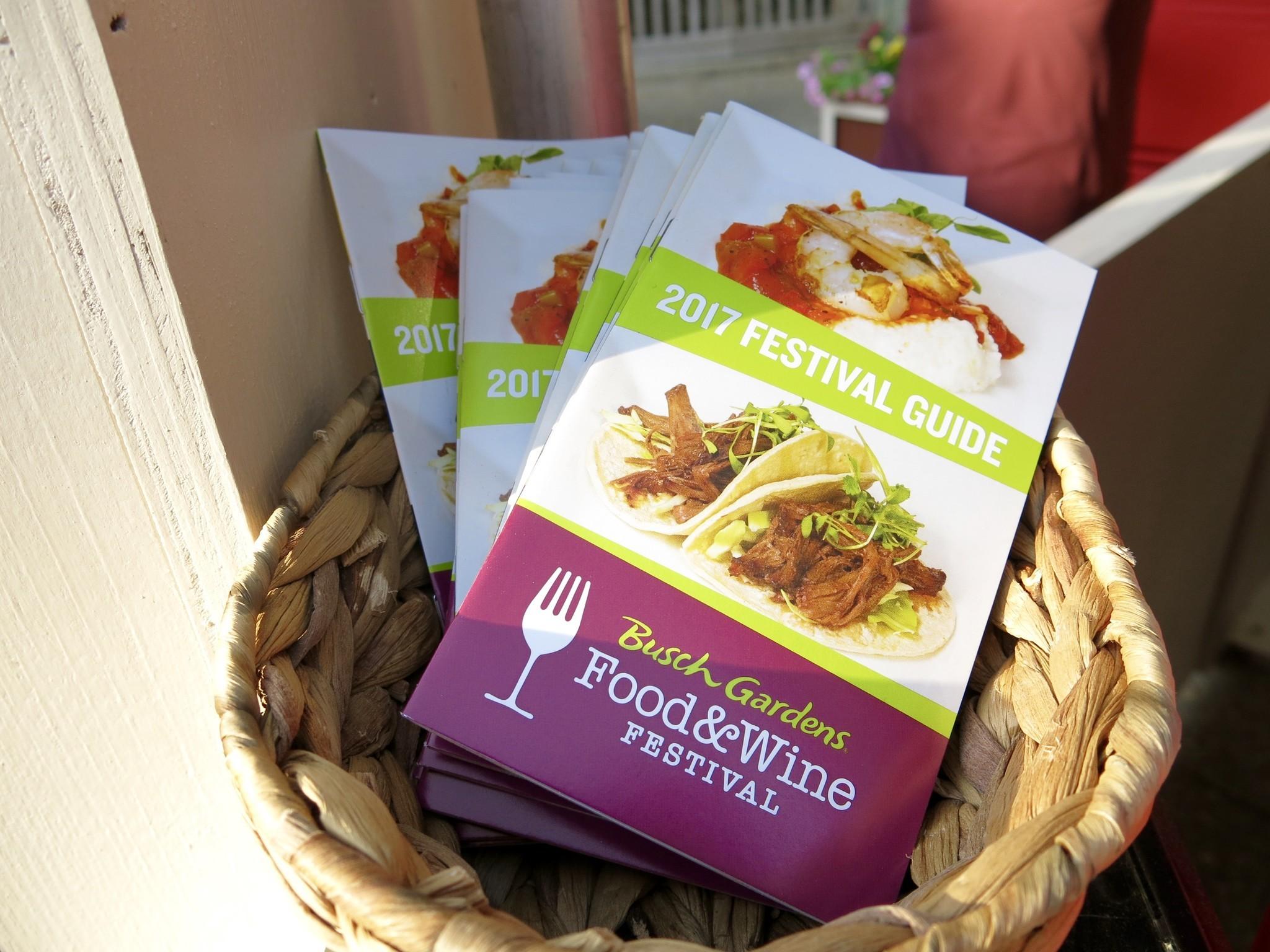 Food and wine festival de busch gardens el sentinel for Busch gardens food and wine 2017